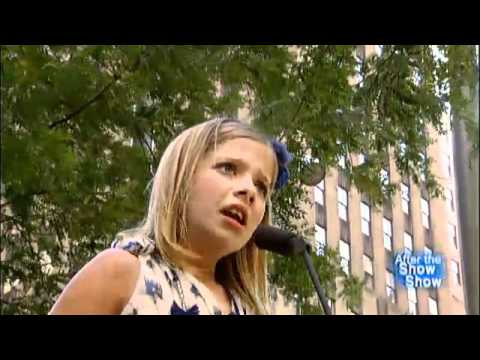 Jackie Evancho After the Show Fox and Friends