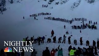 Desperate Search For Survivors Buried In New Mexico Avalanche | NBC Nightly News - NBCNEWS