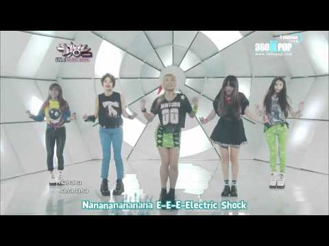 [Vietsub][Perf] F(x) - Electric Shock @120615 Music Bank {T-Express team}{360kpop}