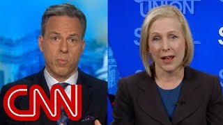 Tapper to Gillibrand: You've called Trump's comments racist. How about yours? - CNN