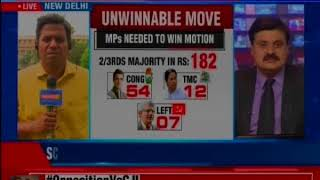 Opposition led by Ghulam Nabu Azad moves to the impeachment motion against CJI Dipak Misra - NEWSXLIVE