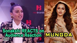 Sonakshi REACTS on 'MUNGDA' Remake - IANSLIVE