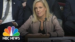 DHS Secretary Nielsen On S***hole Comment 'I Did Not Hear That Word Used' | NBC News - NBCNEWS