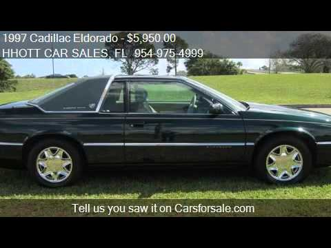 1997 Cadillac Eldorado Coupe for sale in Deerfield Beach, FL