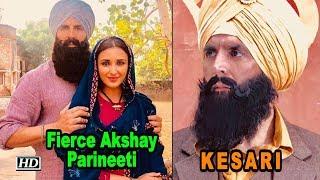 KESARI | Fierce Akshay - Parineeti FIRST LOOK | Karan Johar - IANSINDIA