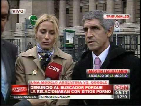 C5N - JUSTICIA: UNA MODELO ARGENTINA VS GOOGLE