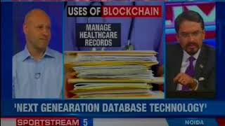 Ethereum Co-Founder Joseph Lubin Speaks On NewsX, over BlockChain Skepticism - NEWSXLIVE