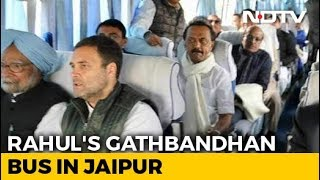 Rahul Gandhi, Opposition Leaders On 'Gathbandhan Travels' For Oath Events - NDTV