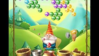 guide, tips, and cheats from Bubble and the Seven Dwarfs Level 5 in video