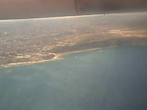 Aterrizaje en el Aeropuerto de Melilla