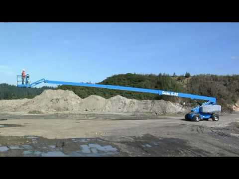 APPLICATION VIDEO: Genie Stick Boom S80/85 - Boom Extension