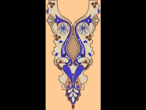 V Shape Neck Designs of Kameez Dresses By Salman Akhter