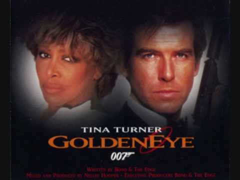7. TINA TURNER – GOLDENEYE