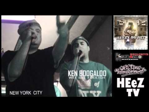 J-HON and WEE BEE FOOLISH Rock NEW YORK CITY - HEEZ TV/KONEKTADO