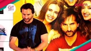 OMG!! Saif Ali Khan's love bites | CUT IT!! | EXCLUSIVE | zoom turn on