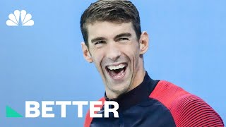 Michael Phelps: This Is How I Figured Out How To Conquer Pressure | Better | NBC News - NBCNEWS