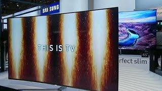 Телевизоры на CES: больше, тоньше и