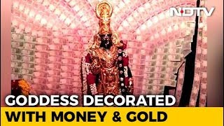 Gold Worth Rs. 4.5 Crore And Rs. 2.5 In Notes For Vizag Temple Goddess - NDTV