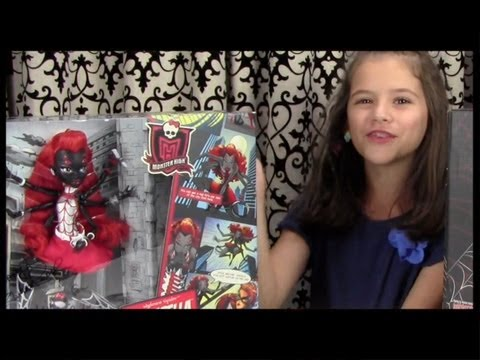 Monster High Webarella (Wydowna Spider) Doll Review! Comic-Con Exclusive! | KITTIESMAMA