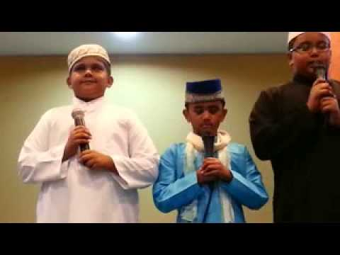 Masjid bencoolen camp blessings 11 பாடல். by students of madrasa[song]