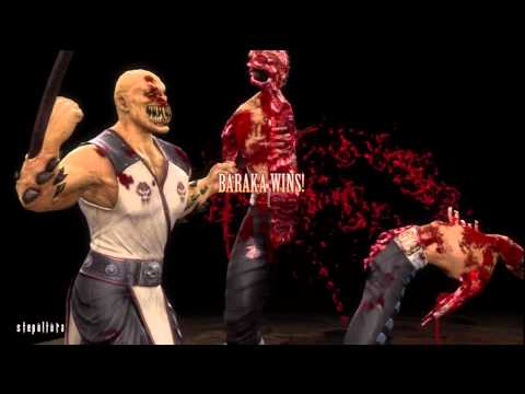 Mortal Kombat Baraka Story (2011)