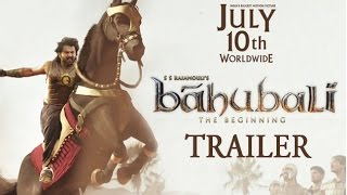 Baahubali - The Beginning RELEASE Trailer | From 10th July, 2015 | REVIEW  | Lehren Telugu - LEHRENTELUGU