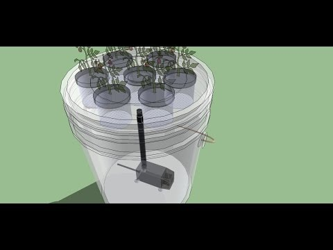5 Gallon Bucket Aeroponics - The easiest aeroponics system to build - Full Class HD