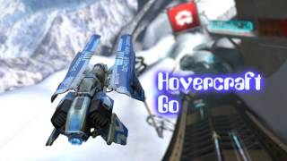 Royalty Free :Hovercraft Go