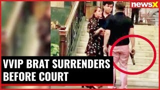 5 Star Hooliganism: VVIP brat Ashish Pandey surrenders before court - NEWSXLIVE