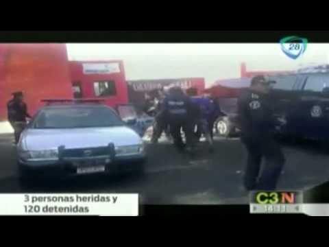 Desalojo de predio en Tláhuac deja más de 100 detenidos