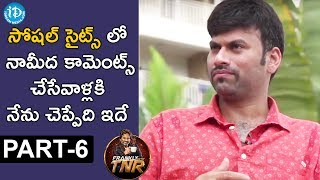 Director Omkar Exclusive Interview Part #6 || Frankly With TNR || Talking Movies With iDream - IDREAMMOVIES
