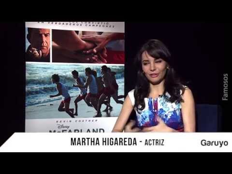 Mcfarland sin límites: Entrevista a Martha Higareda