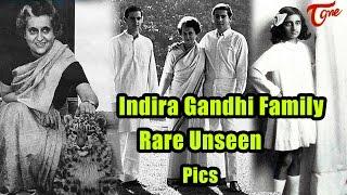 Indira Gandhi Family Rare Unseen Video - TELUGUONE