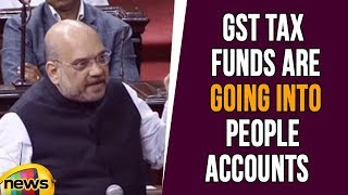GST Tax Funds Are Going Into People Accounts Not Into BJP Party Accounts, Says Amit Shah - MANGONEWS