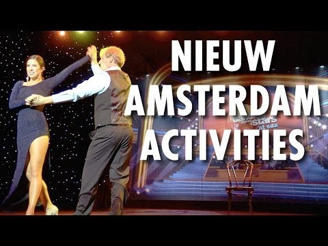 Nieuw Amsterdam Review & Tour: Activities ~ Holland America Line ~ Cruise Ship Review & Tour