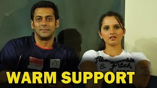Salman Khan in favour of Sania Mirza | Bollywood News