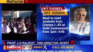 Opposition hits out at Modi over his teacher's day speech - NEWSXLIVE