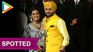 CHECK OUT: Harbhajan Singh & Geeta Basra at Isha Ambani & Anand Piramal's Wedding - HUNGAMA