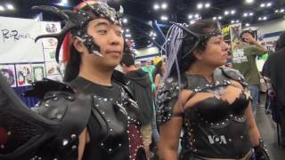Comic Book Fans Combine Fantasy Costumes, Role Playing - VOAVIDEO