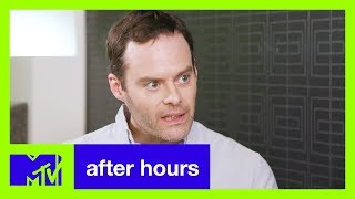 Bill Hader Missed Everything While Filming 'Barry' *SPOILER ALERT: STAR WARS & GOT* | After Hours - MTV