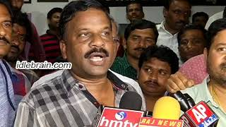 N Shankar Elected as Director's Union President  - idlebrain.com - IDLEBRAINLIVE