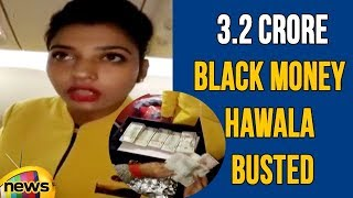 Jet Airways Crew Caught With Rs 3.2 Crore in US Dollars, Black Money Hawala Busted | Mango News - MANGONEWS