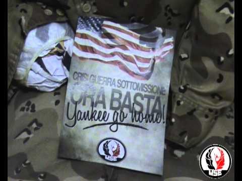 MSE - Blitz al centro di Roma: Yankee go home!