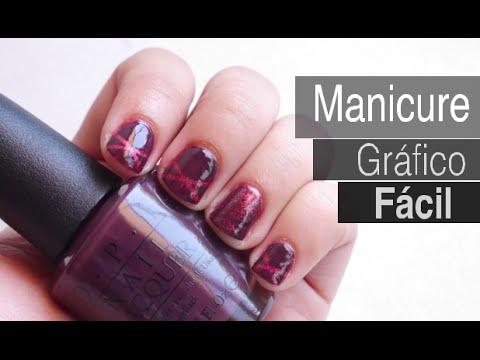 Manicure Fácil con Tonos Morados | One Thousand Looks