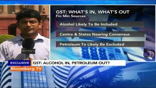 Market Pulse: GST: Alcohol In, Petroleum Out? - BLOOMBERGUTV