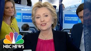 Hillary Clinton On Debate: Campaign 'Had A Great Time Last Night' | NBC News - NBCNEWS
