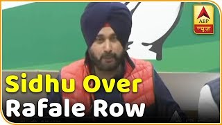 Rafale Row: Navjot Singh Sidhu attacks BJP - ABPNEWSTV