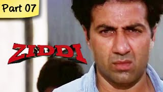 Ziddi (HD) - Part 07 of 15 - Superhit Blockbuster Action Movie - Sunny Deol, Raveena Tandon - RAJSHRI