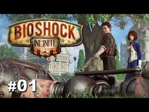 "Bioshock Infinite - Part 1 ""Welcome to Columbia"" / Gameplay Walkthrough + Giveaway"