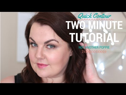 Quick Contouring {Two Minute Tutorial}